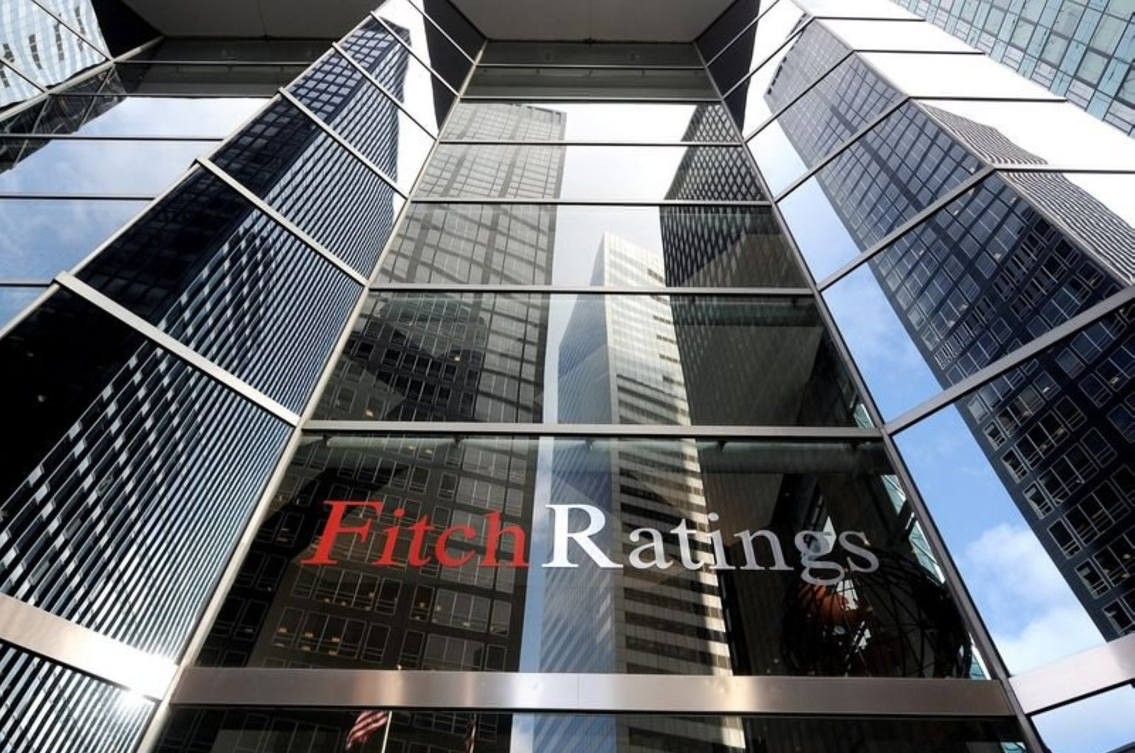 The building of Fitch Ratings in New York City, New York, U.S., Dec. 8, 2011. (EPA Photo)