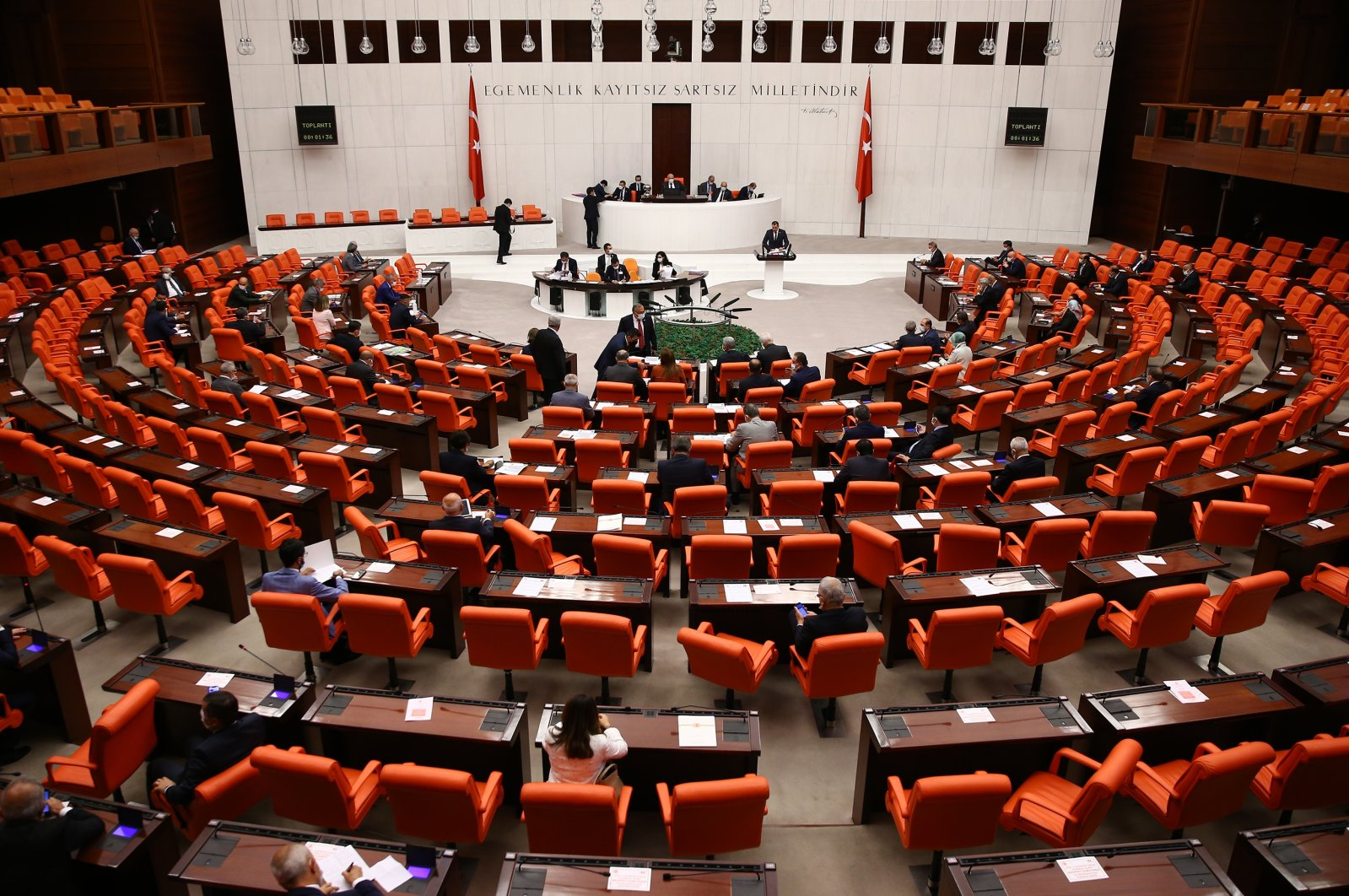 The Turkish Parliament's General Assembly on July 10, 2020. (AA Photo)