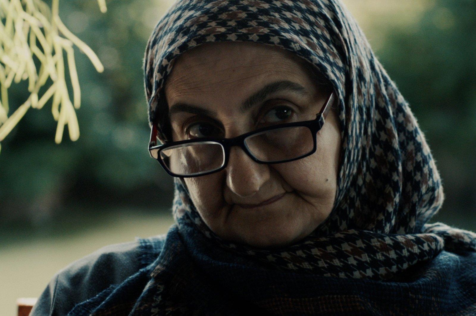 """Şengül Deniz stars in the lead role of """"Winter Garden."""" (AA PHOTO)"""