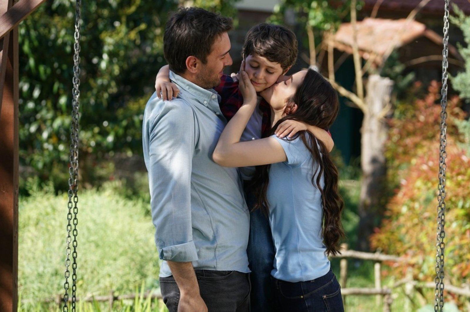 "A scene from ATV's hit series ""Sen Anlat Karadeniz."""
