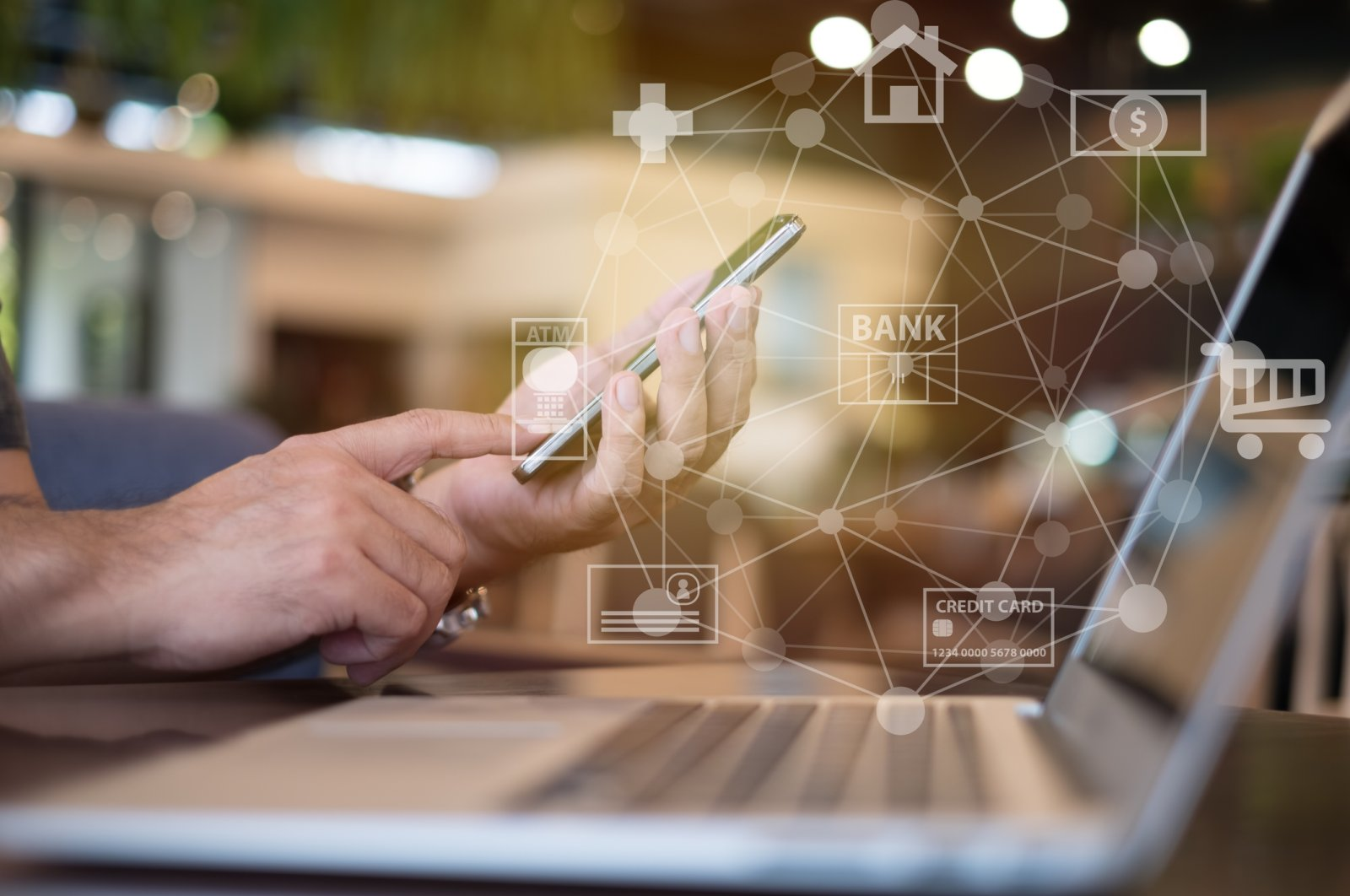 More and more users are opting for mobile-based apps to carry out their transactions while complying with social distancing guidelines. (iStock Photo)