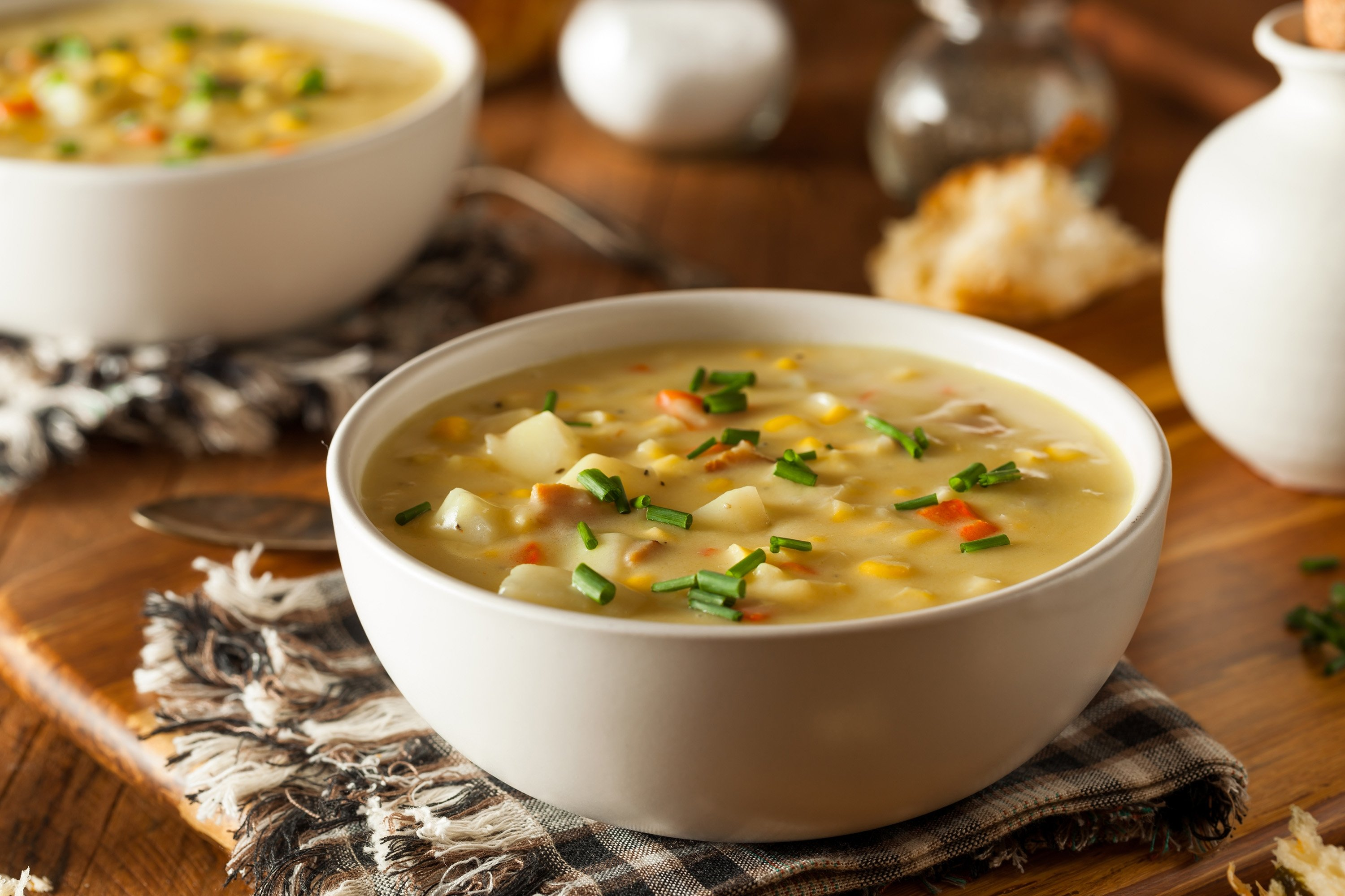 While making Black Sea-style cracked corn soup, you can always add vegetables or meat if you want. (iStock Photo)
