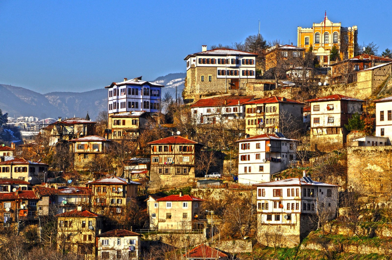 The traditional Ottoman houses create the urban layout of Safranbolu. (Shutterstock Photo)