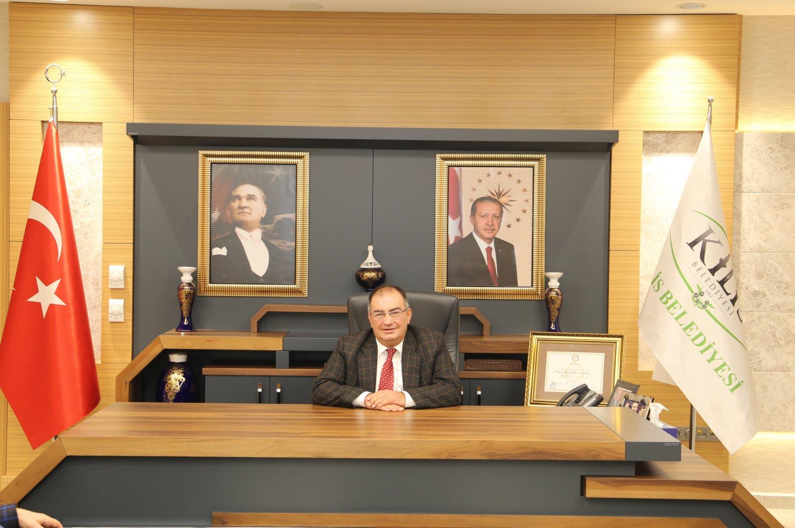 Kilis Mayor Mehmet Abdi Bulut. (IHA File Photo)