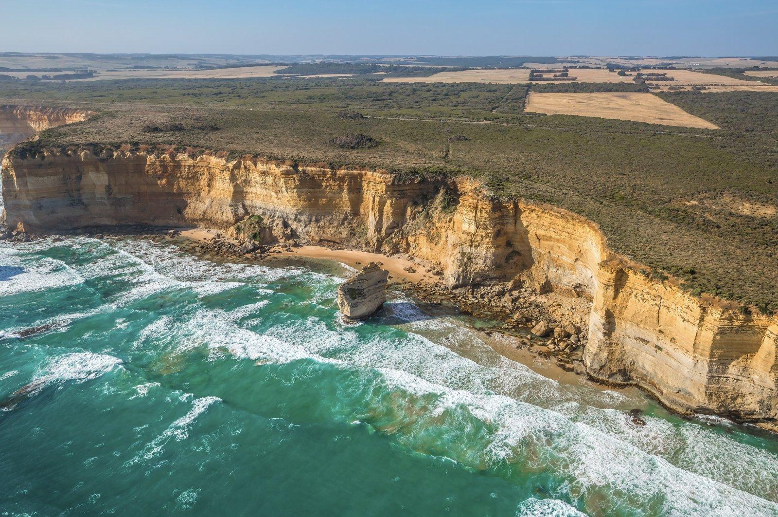 Undated photo of Australia's Shipwreck Coast (Shutterstock Photo)