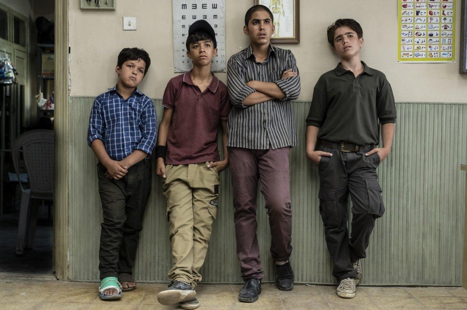 """A still shot from Majid Majidi's """"Sun Children."""""""