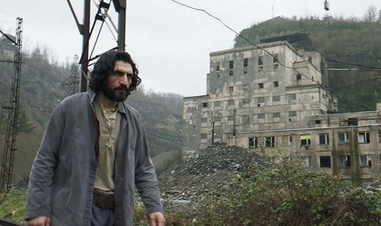 """Actor Numan Acar is seen in a still shot from 'Gölgeler İçinde"""" (""""In the Shadows""""), which won the Special Jury Prize at the 49th Rotterdam International Film Festival."""