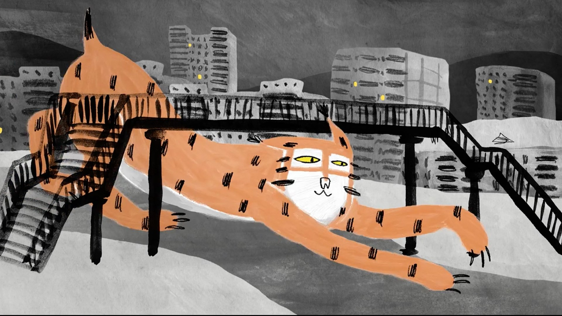 """Nina Bisiarina's 'A Lynx in the Town' is screened at the """"Old Normal: Virtual Self"""" selection of the festival."""