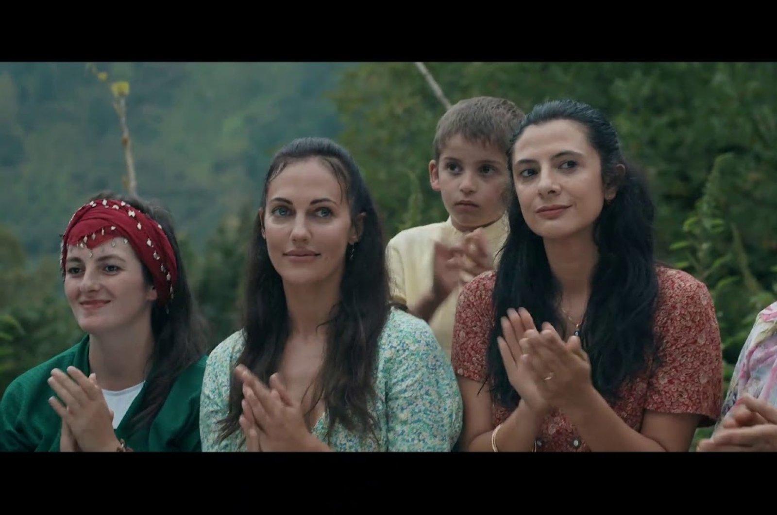 """A still shot from Eylem Kaftan's film """"Kovan"""" (""""The Hive"""")."""