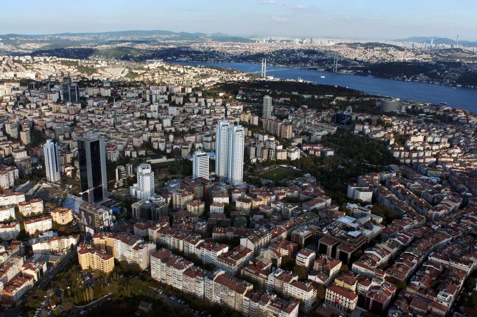 Houses and buildings are seen in Istanbul, Turkey, July 19, 2018. With 2,370 units sold in September, Istanbul enjoyed the lion's share of sales to foreign buyers. (iStock Photo)