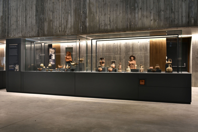 Beberapa artefak yang dipamerkan di Museum Troy.  (Atas kebaikan Museum Troy)