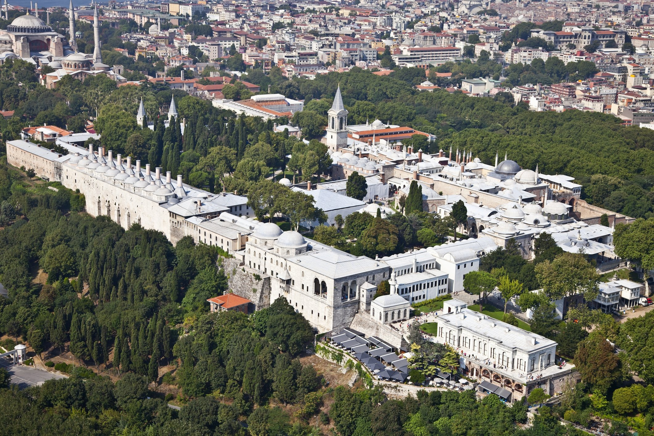 A general view from the Topkapı Palace in Istanbul. (iStock Photo)