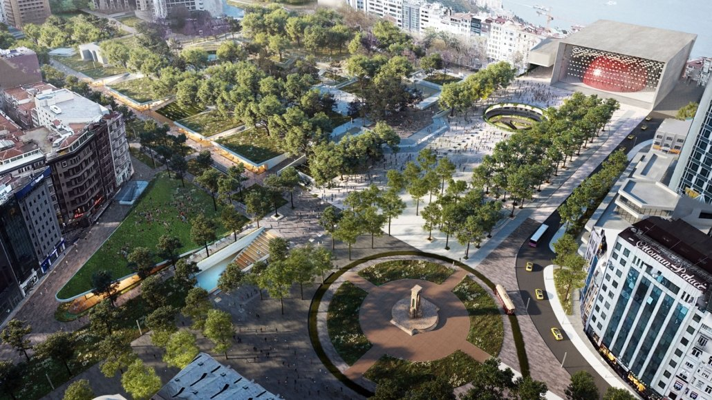 Public vote to choose new designs of Istanbul's squares