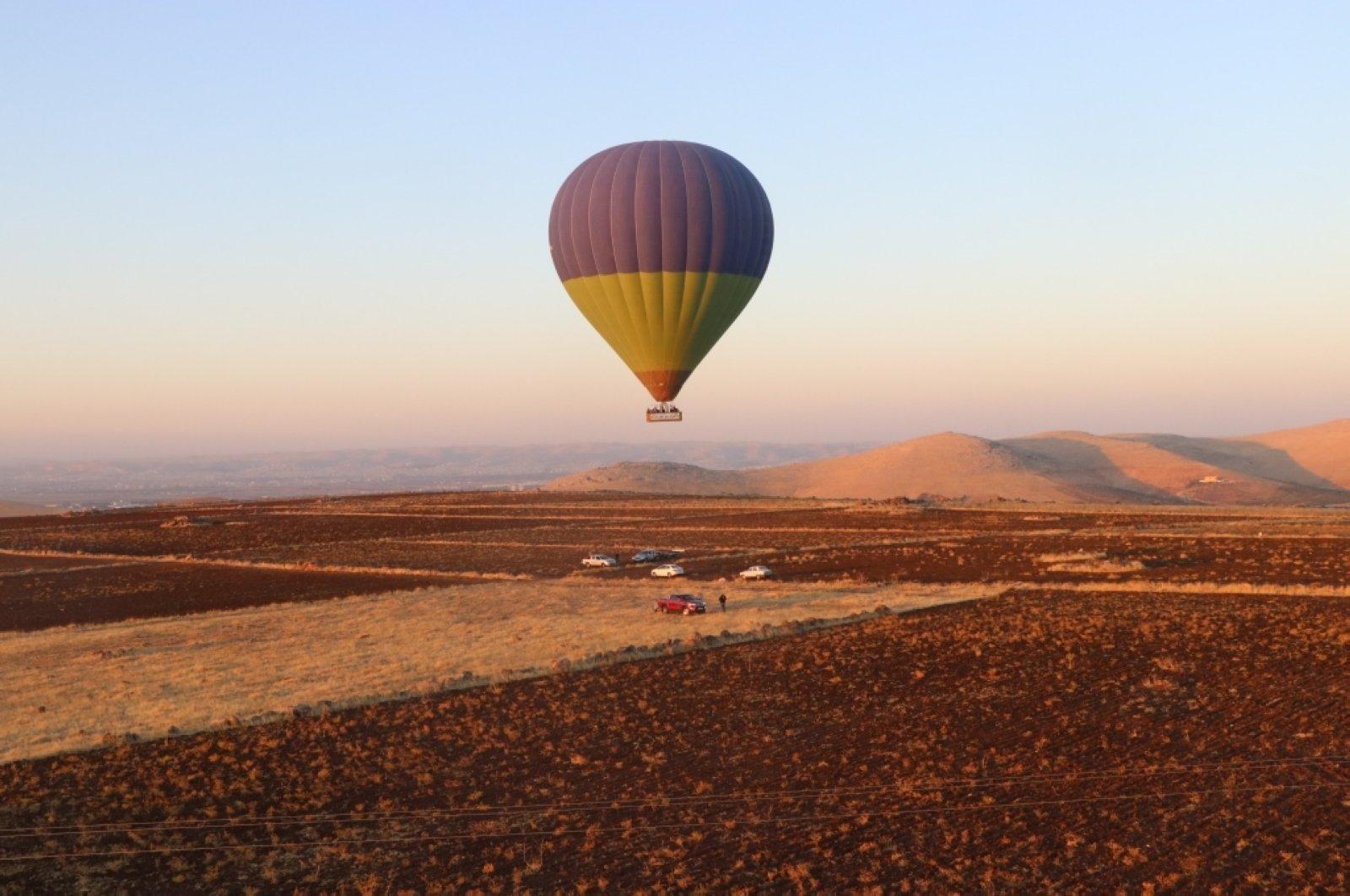 Hot air balloon rides have officially commenced in Göbeklitepe, Şanlıurfa in southeastern Turkey. (AA Photo)