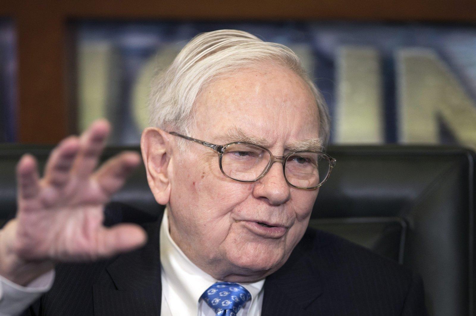 Berkshire Hathaway CEO Warren Buffet speaks during an interview in Omaha, Nebraska, U.S., May 6, 2013. (AP Photo)