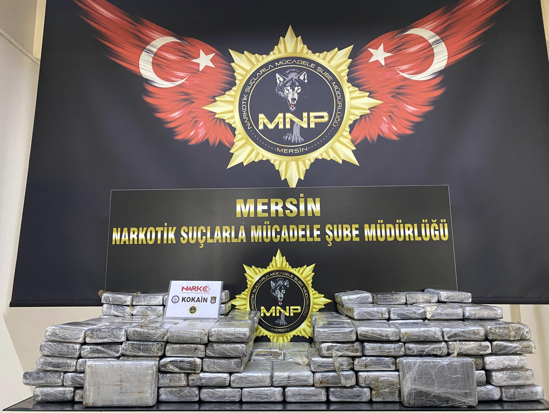 Turkey seizes 220 kilograms of cocaine from Brazilian ship