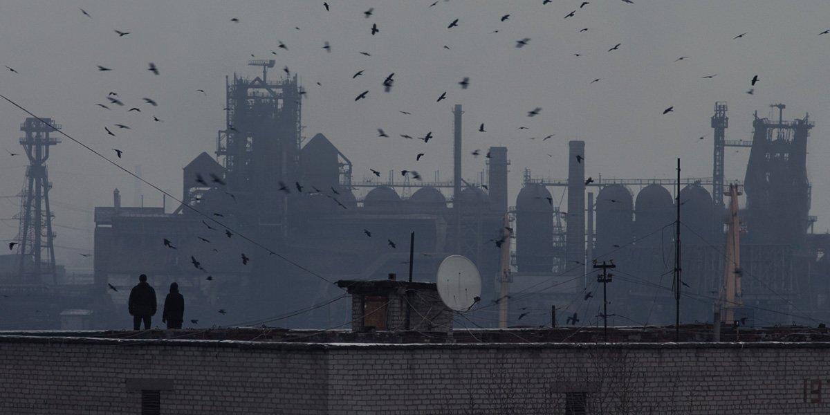 """Still shot from Valentyn Vasyanovych's dystopian film """"Atlantis."""""""