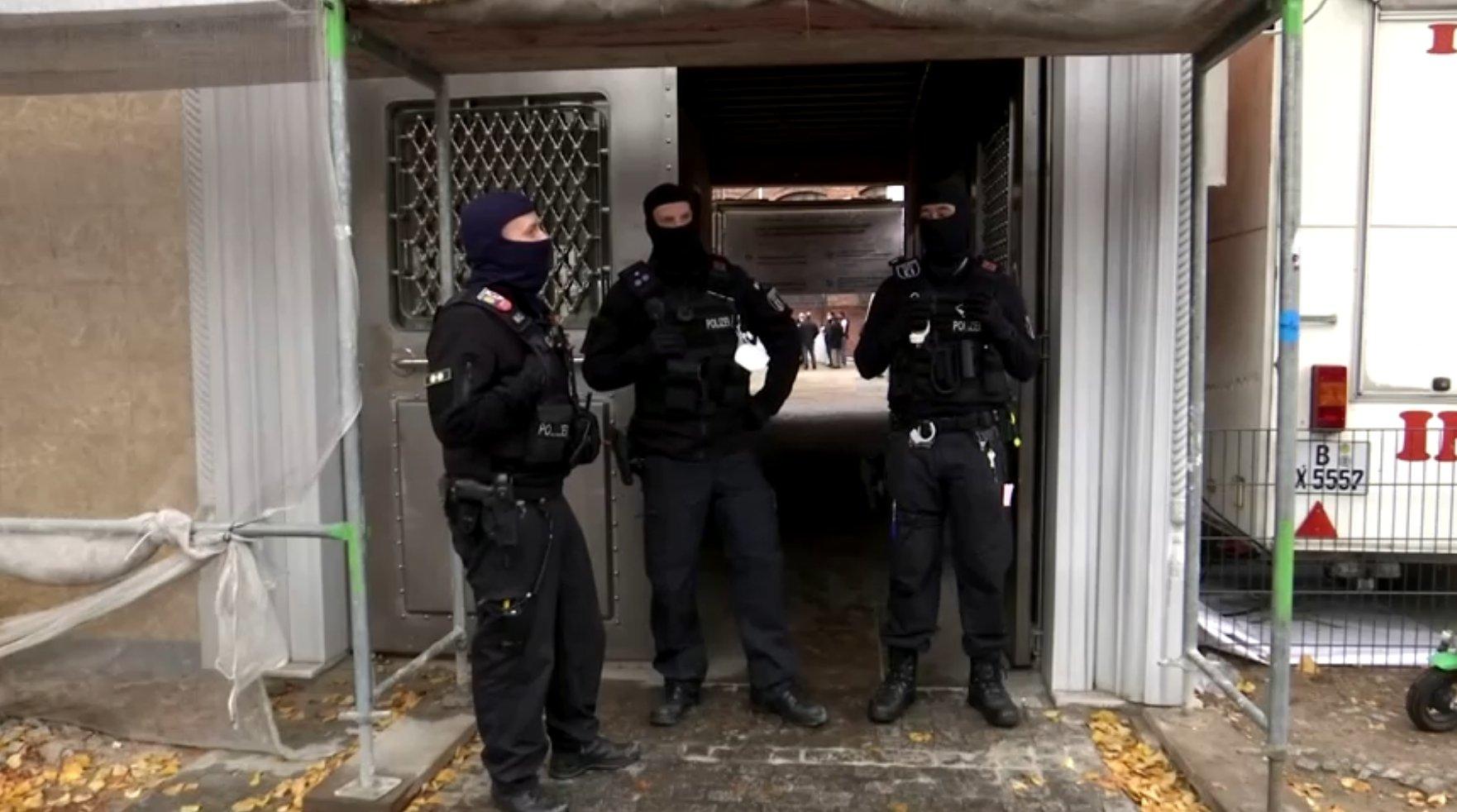 Turkey condemns police storming of Berlin mosque
