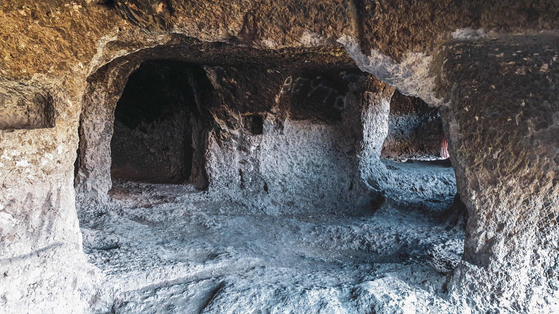 多层洞穴网络由数十个房间组成。 (照片来自Argun Konuk)