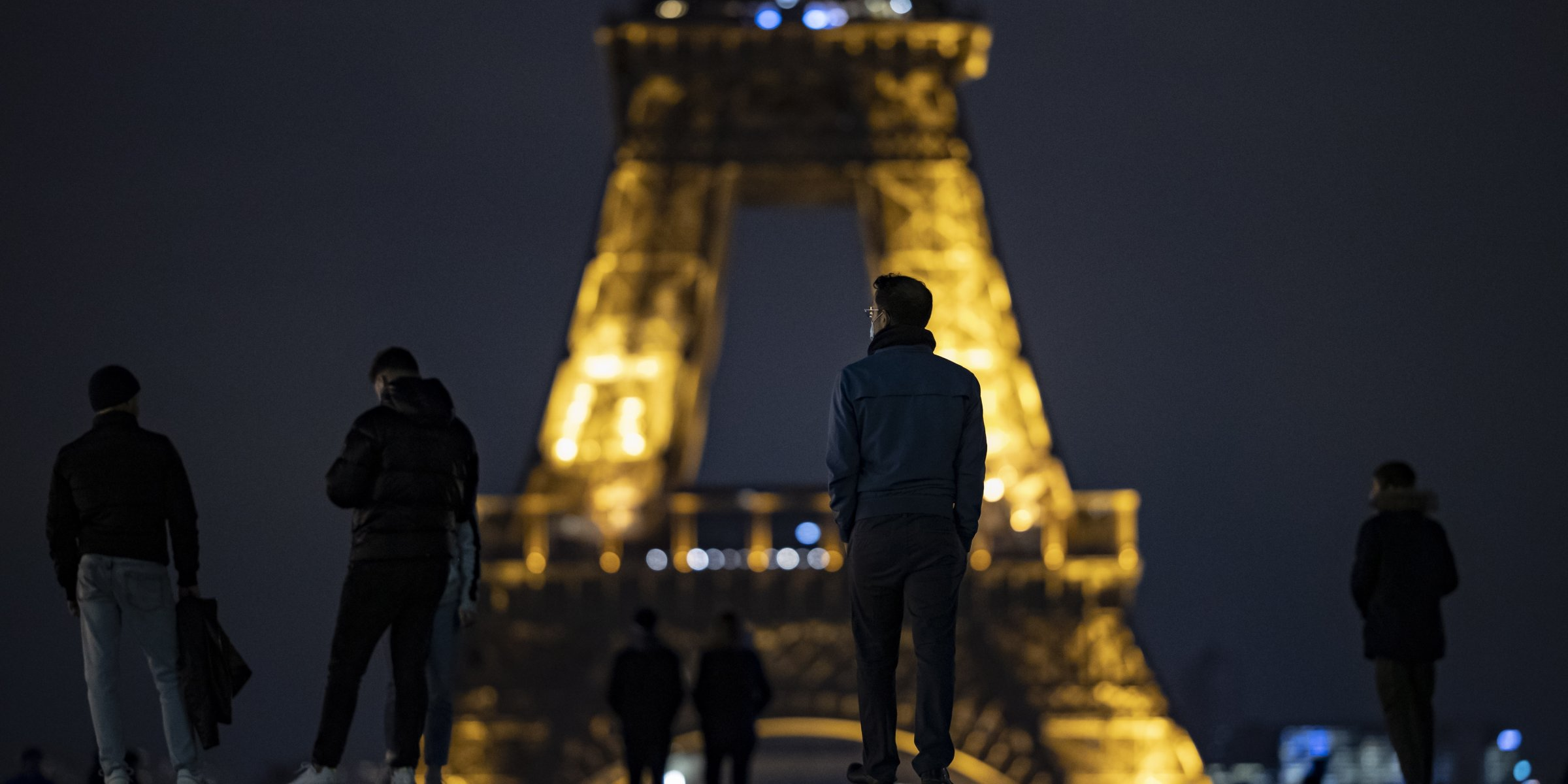 Eiffel Tower in Paris sees significant drop in visitor numbers due to tight coronavirus measures