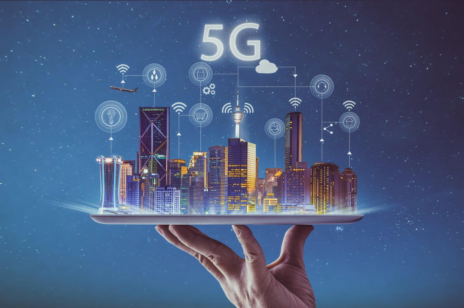 5G-enabled industries are said to have the potential to add $8 trillion to global gross domestic product (GDP) by 2030. (iStock Photo)