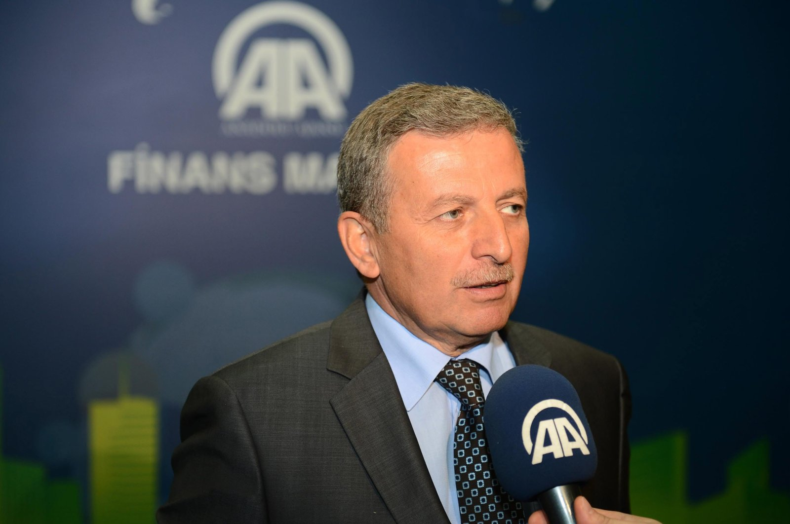 Secretary-General of the Participation Banks Association of Turkey (TKBB), Osman Akyüz. (AA Photo)