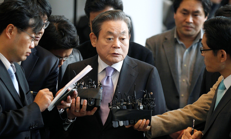 Lee Kun-Hee, who made SKorea's Samsung a global powerhouse, dies at 78 |  Daily Sabah