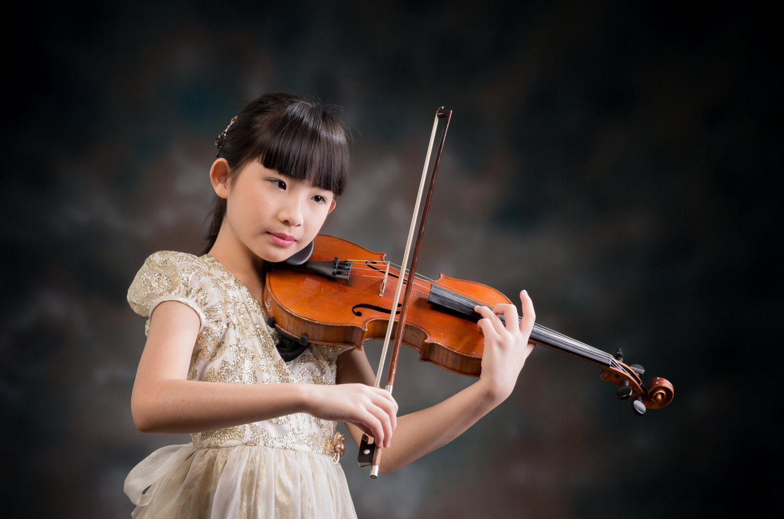 Singapore's musical prodigy Chloe Chua has been educated at NAFA School of Young Talents since she was 4 years old. (Courtesy of Singapore Embassy)