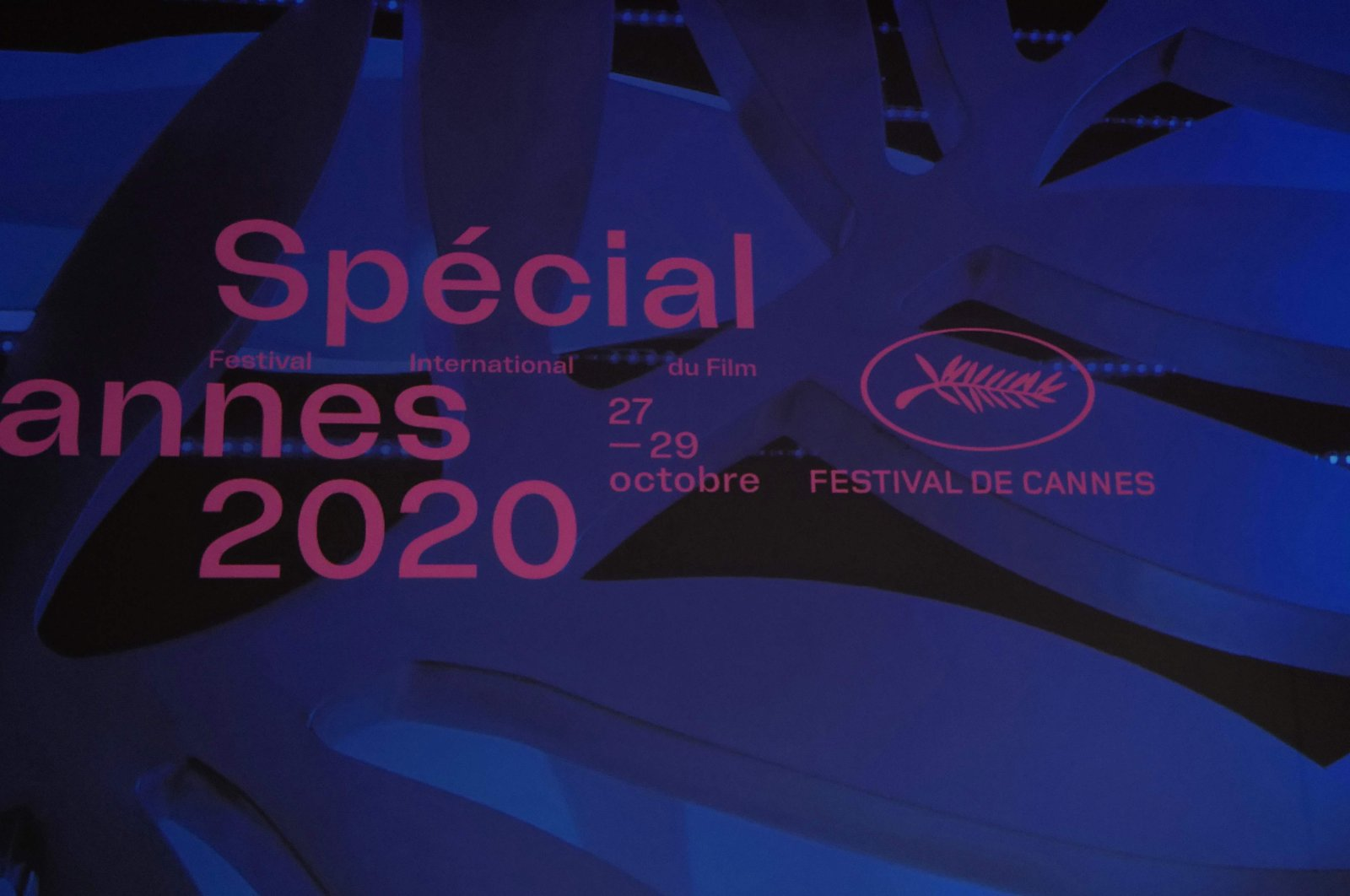 Cannes Film Festival general delegate Thierry Fremaux speaks as he presents Cannes 2020 Special, a mini-version of the Cannes Film Festival at the Palais des Festivals et des Congres in Cannes, southeastern France, on Oct. 27, 2020. (AFP PHOTO)