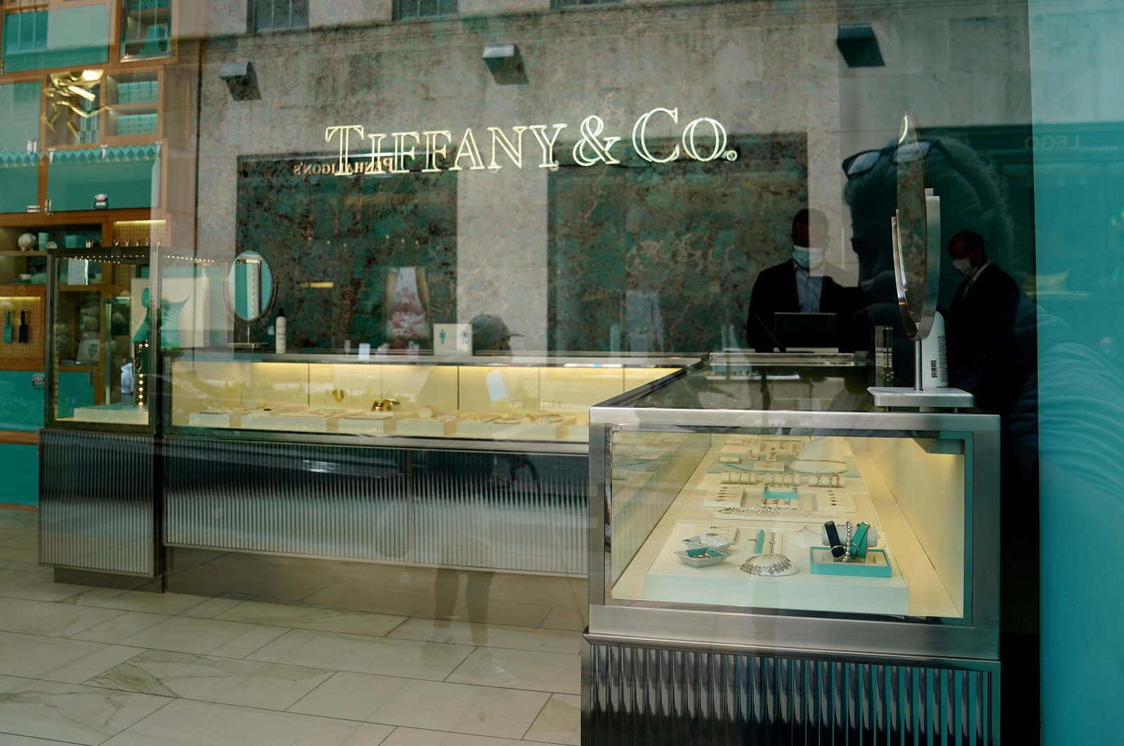 A Tiffany & Co. store is pictured in the Manhattan borough of New York City, New York, U.S., Sept. 10, 2020.  (Reuters Photo)