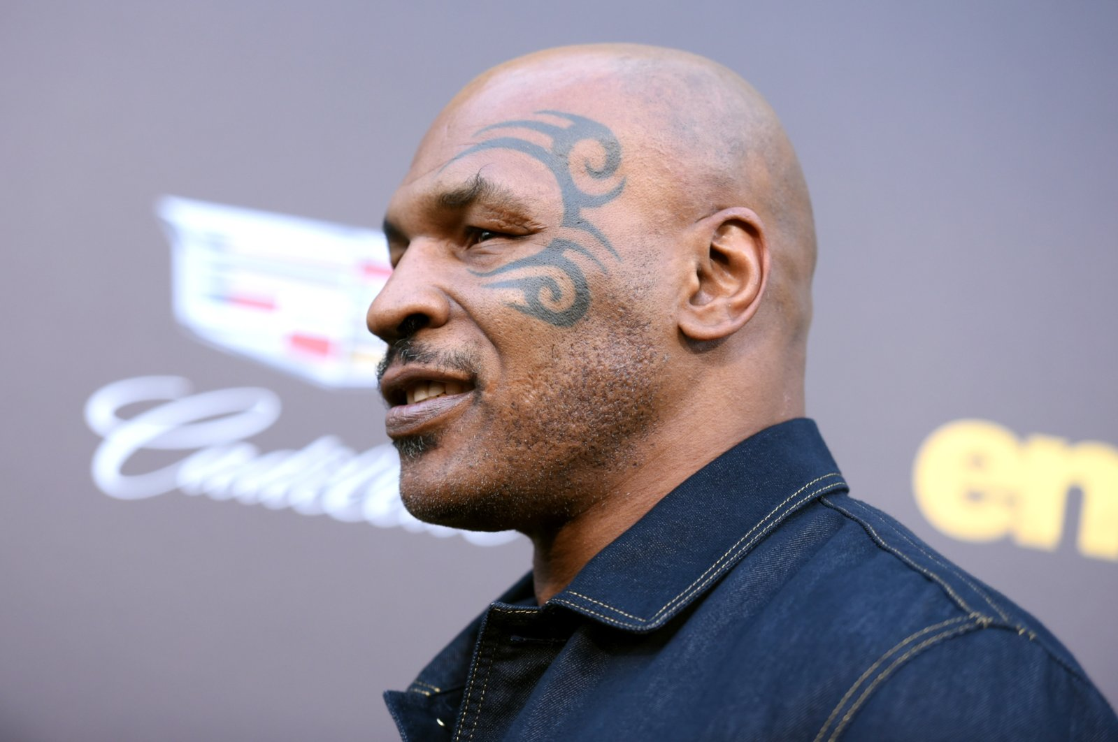 """Mike Tyson arrives at the Los Angeles premiere of """"Entourage"""" at the Westwood Regency Village Theatre on Monday, June 1, 2015. (AP File Photo)"""