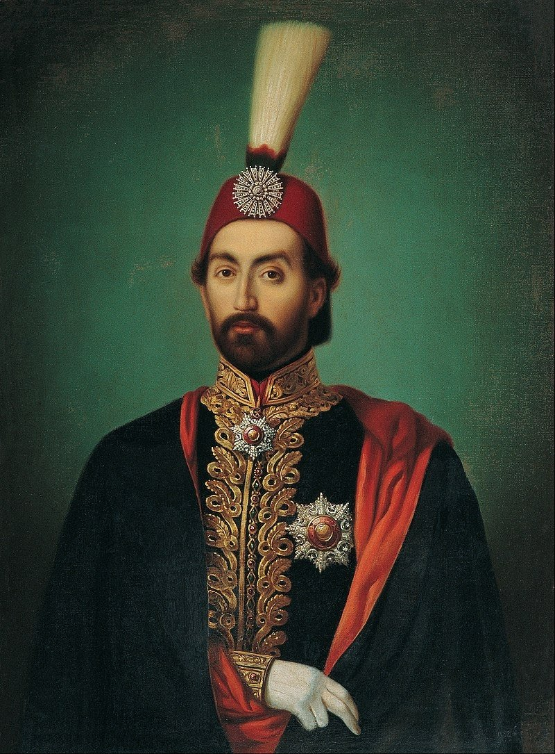 A portrait of Sultan Abdülmecid currently on display at Pera Museum is attributed to French painter Jean Portet or the Ottoman painters Sebuh or Ruben Manas.