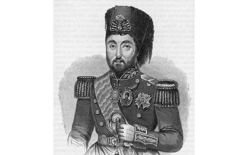 "A sketch of Mustafa Reşit Pasha in court uniform taken from ""A History of All Nations from the Earliest Times"" by John Henry Wright, published in 1906."