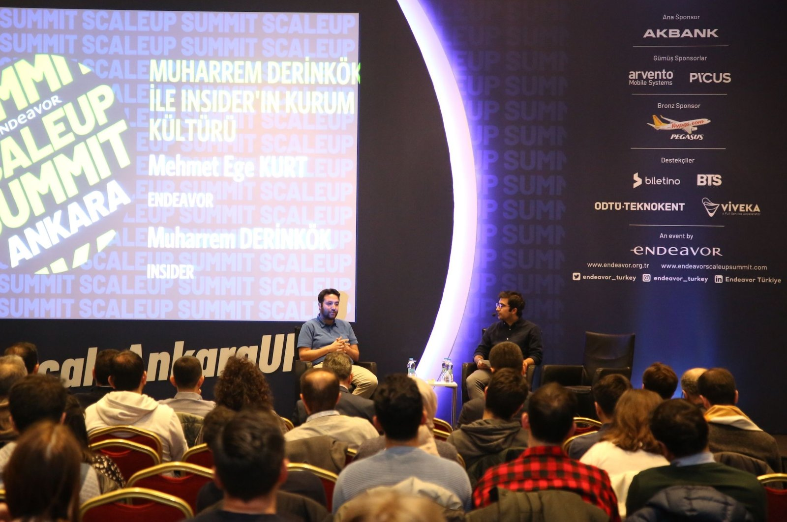 ScaleUp Acceleration Program aims to support the city ecosystems in Turkey to initiate world-class startups. (File Photo)