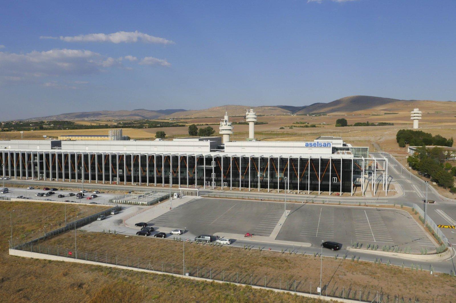 ASELSAN's radar and electronic warfare technologies center, Gölbaşı district, capital Ankara, Turkey, Aug. 20, 2020. (Sabah Photo)