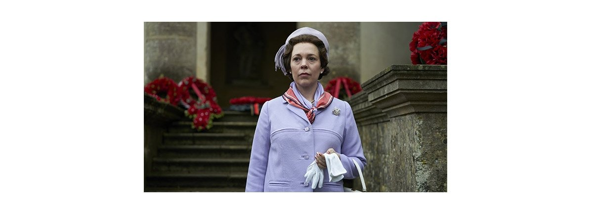 """Olivia Colman as Queen Elizabeth II in a scene of the third season of the series """"The Crown."""""""