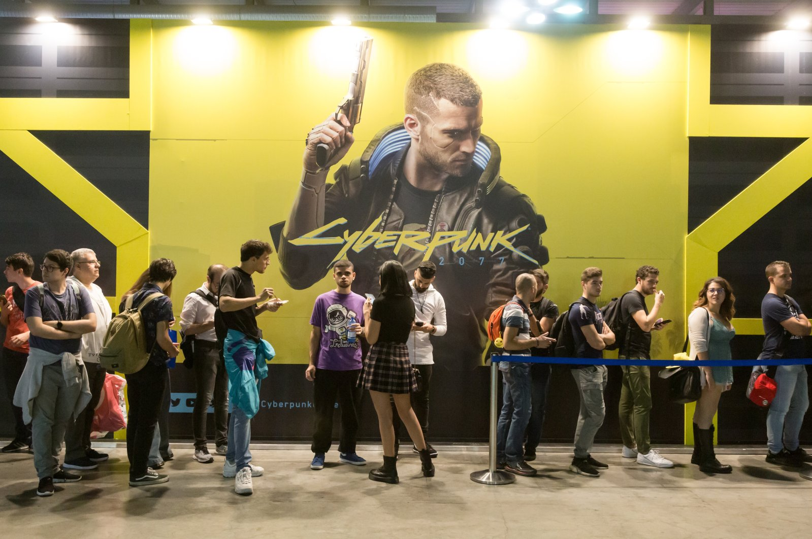 People visit Milan Games Week 2019, an event dedicated to video games and electronic entertainment, on Sept. 27, 2019, in Milan, Italy. (Shutterstock Photo)