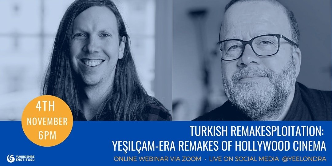 A poster of the webinar showing lecturer Iain Robert Smith (L) and professor Nezih Erdoğan. (Courtesy of YEE)