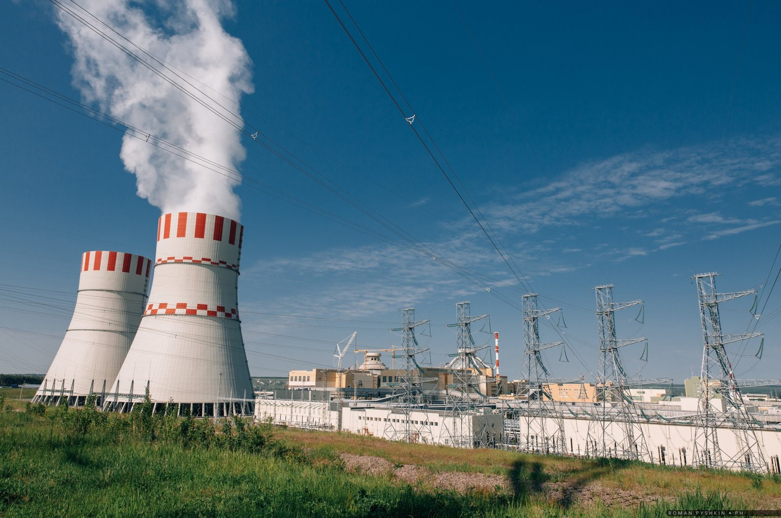 Turkey's first nuclear power plant Akkuyu will have the same technological features as Russia's Novovoronej NPP-2 in Voronej Oblast, March 4, 2018. (AA Photo)