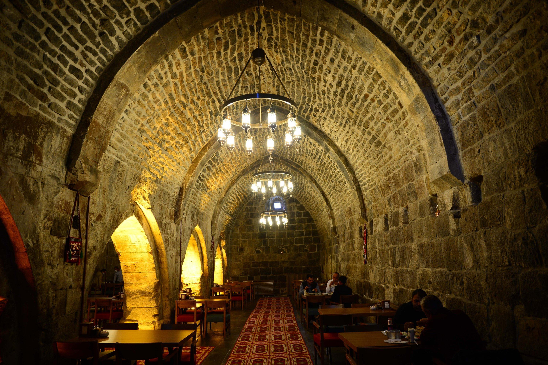A photo from the interior of the Başhan Inn, Bitlis, eastern Turkey, Nov. 5, 2020. (AA Photo)