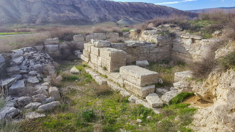 The Acısu Roman burial room. (Photo by Argun Konuk)