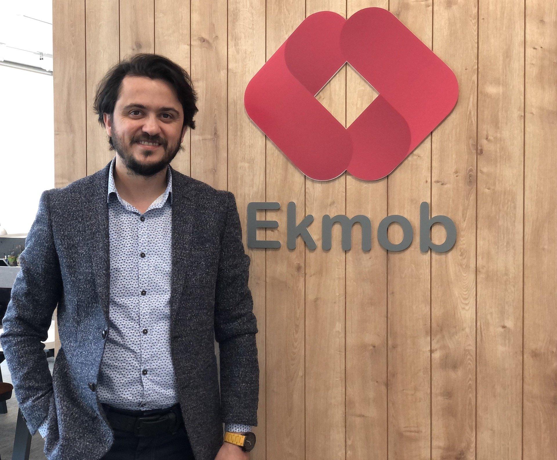 Ekmob Founder and CEO Sunay Şener.