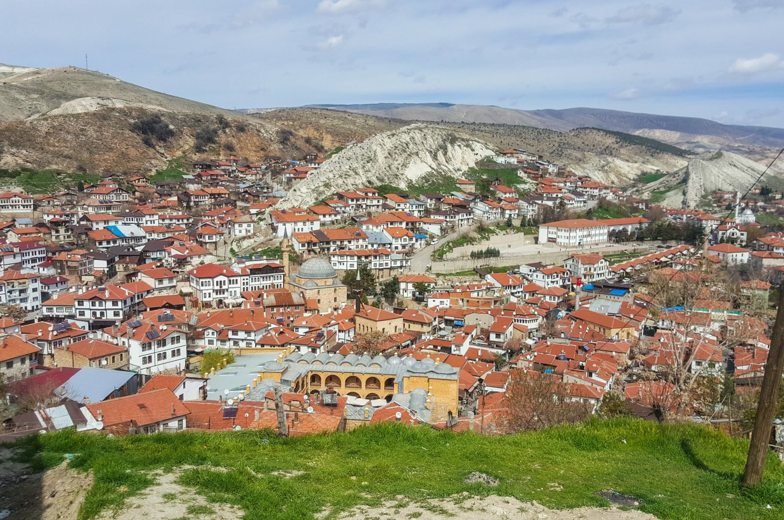 A general view of Beypazarı and its houses. (Photo by Argun Konuk)