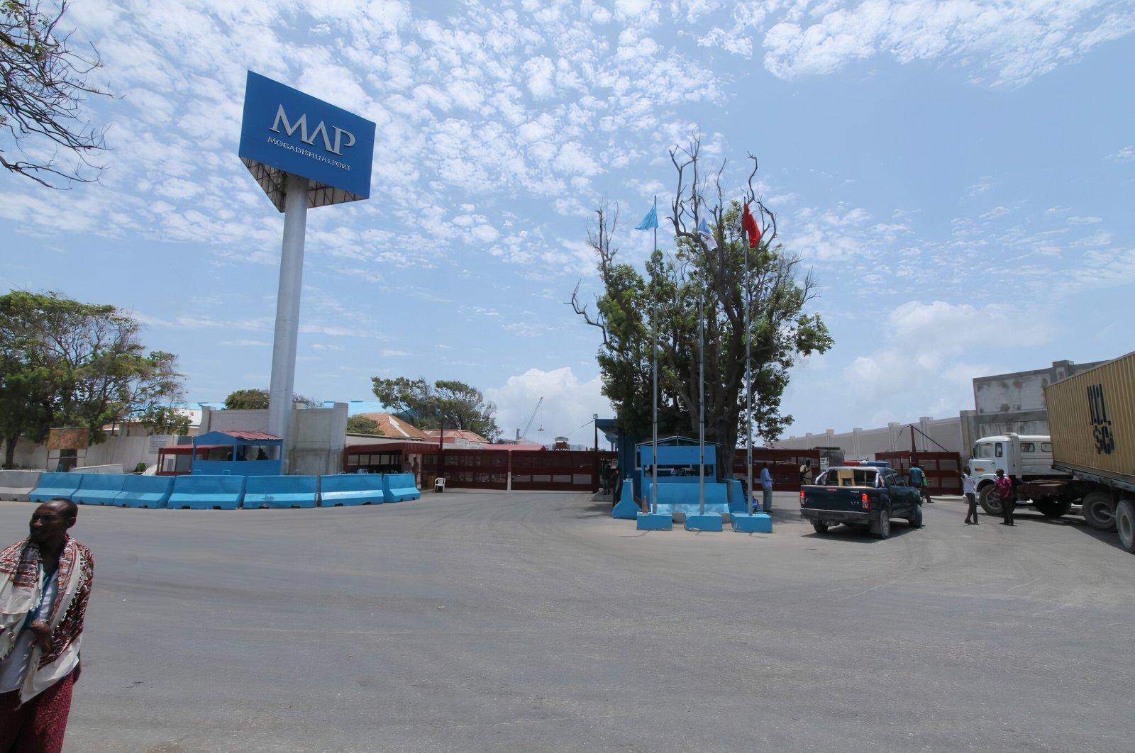 A view of an entrance to Mogadishu Port in the Somalian capital Mogadishu. (Courtesy of portofmogadishu.com)