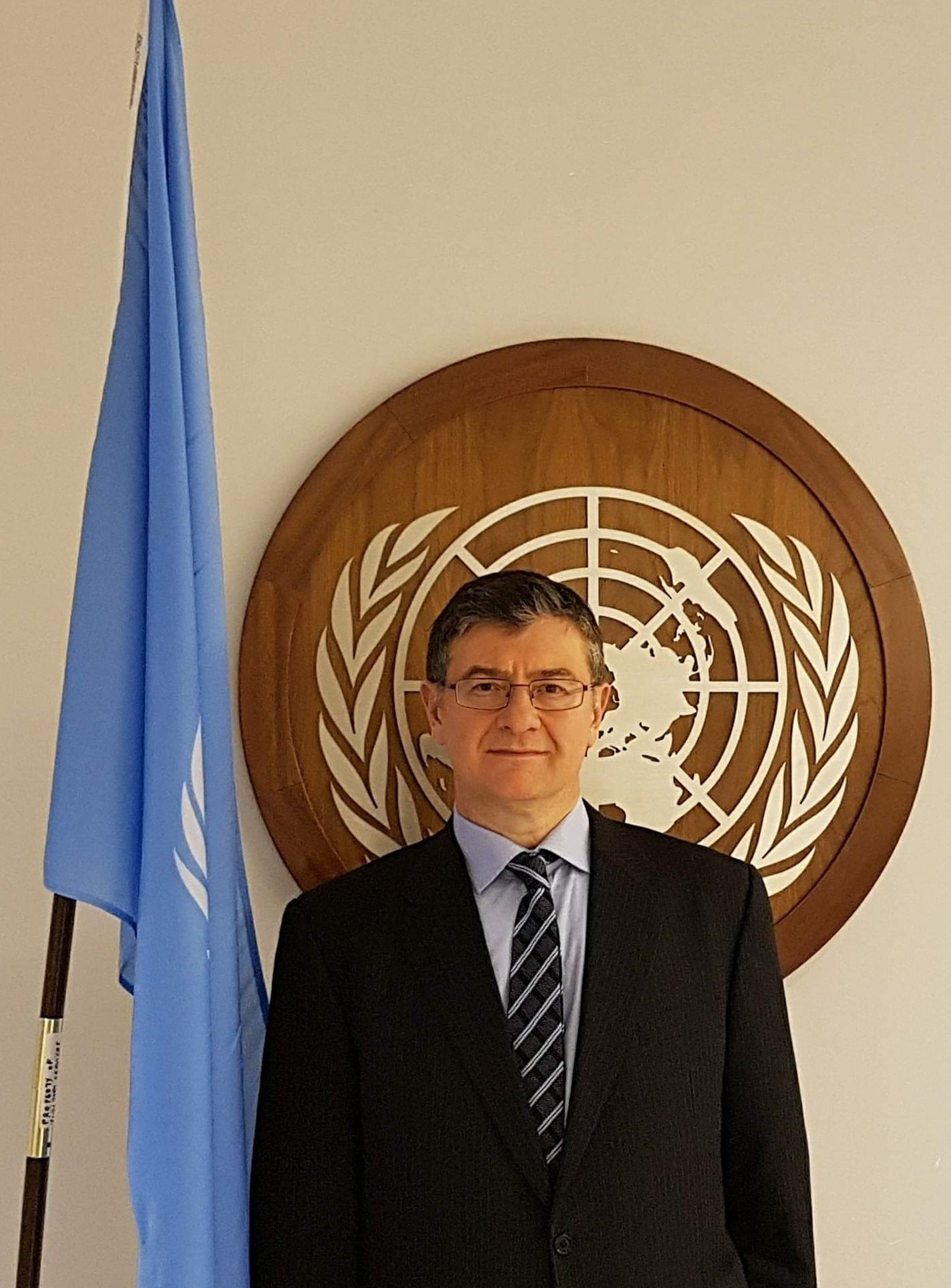 Cihan Terzi, a member of the Advisory Committee on Administrative and Budgetary Questions for the United Nations. (Linkedin Photo)