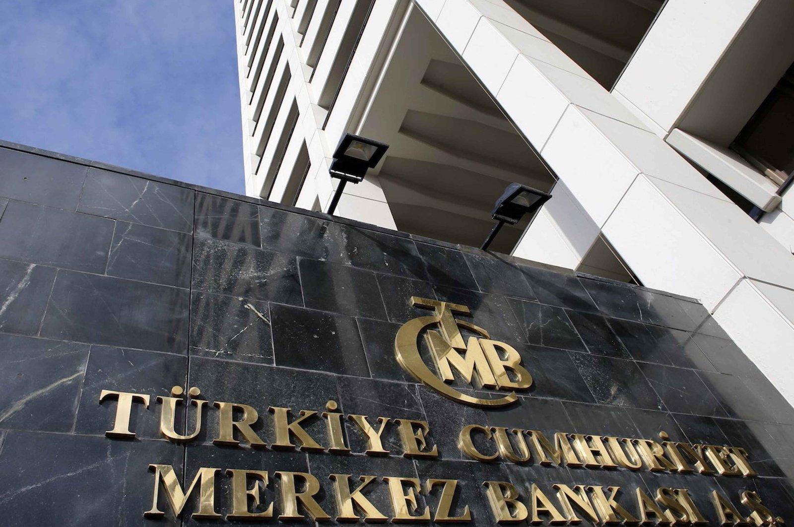 Turkey's Central Bank headquarters in Ankara, Jan. 24, 2014. (Reuters Photo)