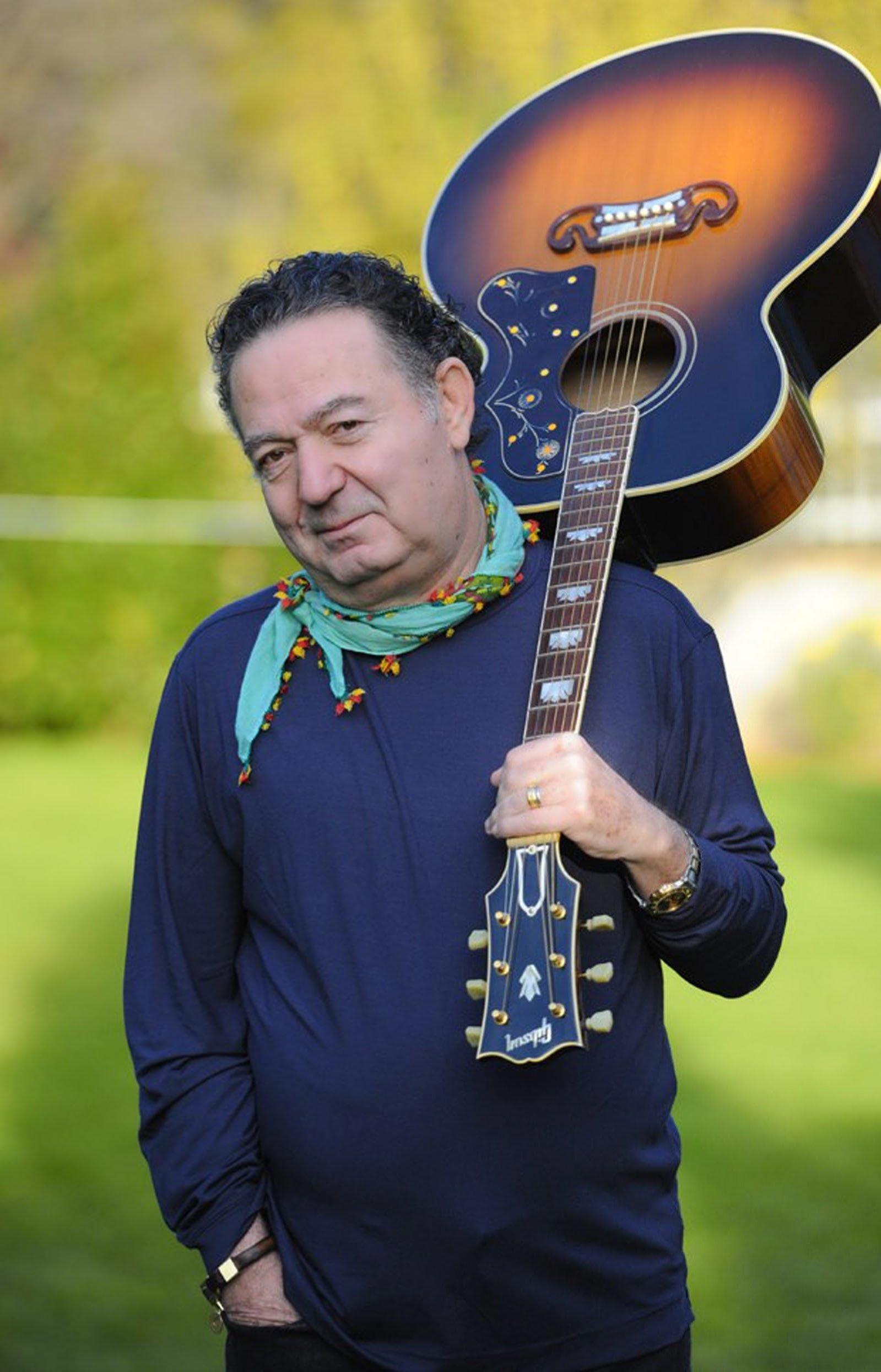 Turkish pop singer-songwriter Kayahan represented Turkey at Eurovision in 1990. (File Photo)