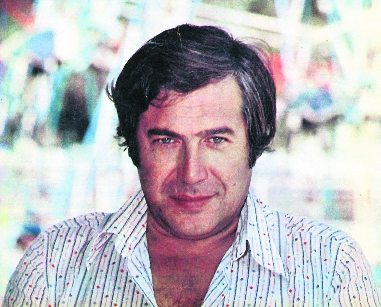 Besides being a famous singer and mıusician, Tanju Okan also starred as an actor in many films. (File Photo)