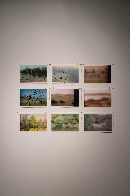 Engin Konuklu, 'The Road,' 2020, acrylic on paper, 110 by 75 centimeters. (Courtesy of Akbank Sanat)