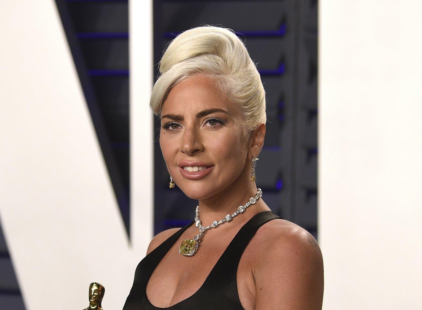 Lady Gaga, winner of the award for best original song